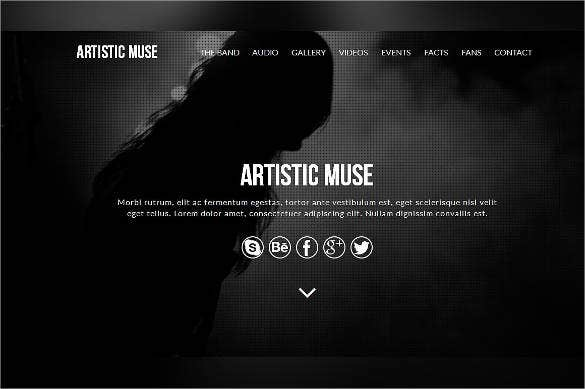 artistic muse template
