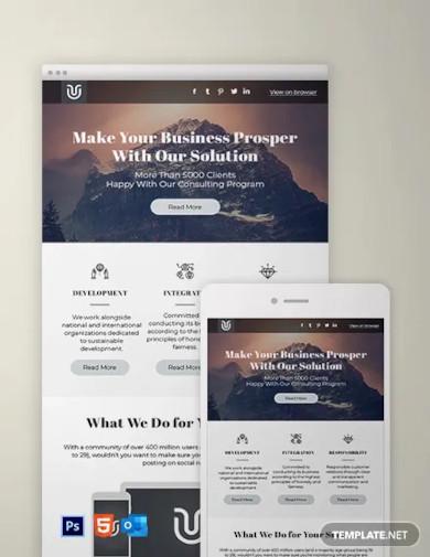 basic newsletter template