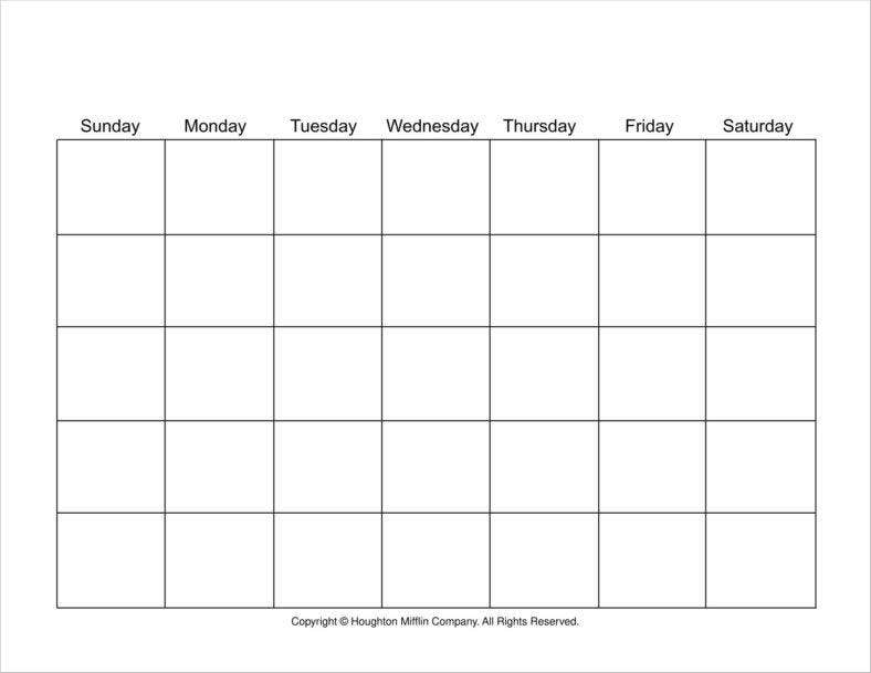 Birthday Calendars Free Samples Examples Formats Download  Free