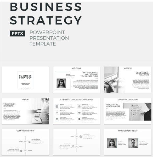 business strategy website theme template