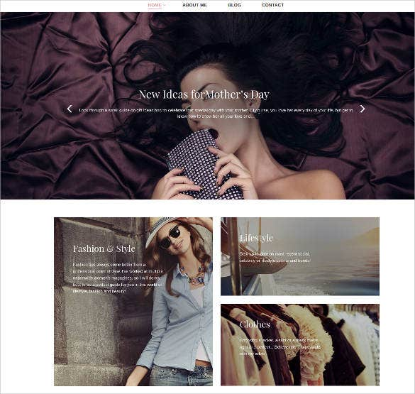 Cloth Store Responsive Website Template
