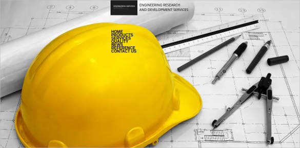 consulting engineering website template