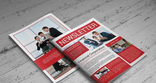 corporate-monthly-newsletter-template
