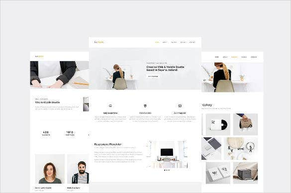 creative responsive business website