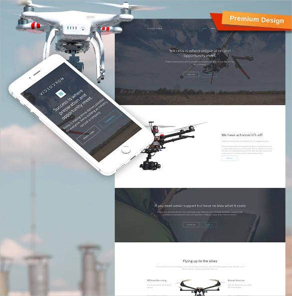 drone-video-responsive-website-design