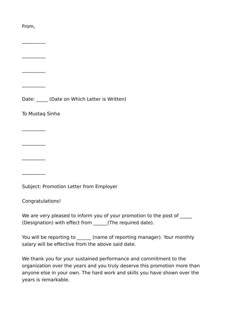 9  business promotion letter templates free samples  examples download