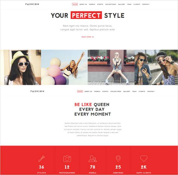 fashion cloth store e commerce