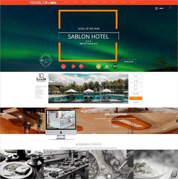 hotel html website template