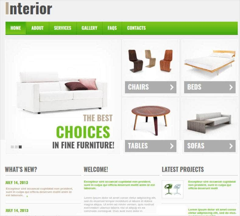 interior and furniture website with cms 788x710