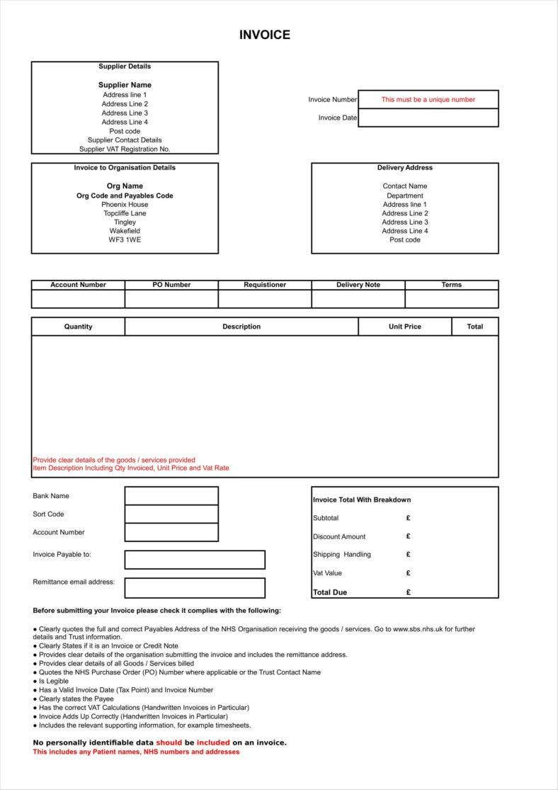 invoice template for delivery order excel form1 11 788x1115