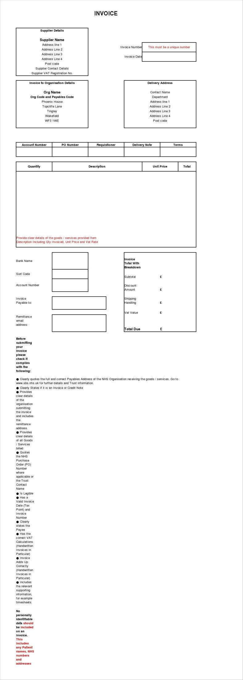 invoice template for delivery order excel form1 788x2201