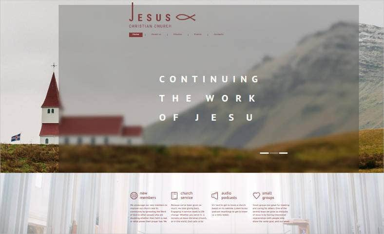 jesus christian church html website1 788x481