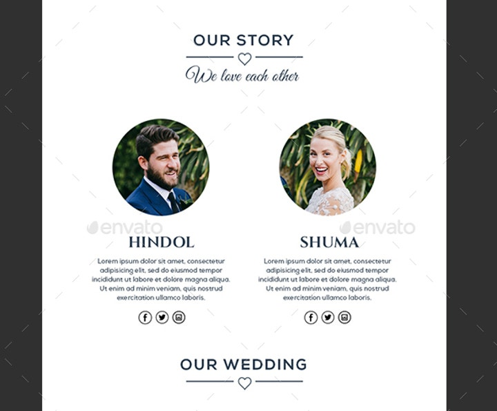 Luxury Invitation Email Template