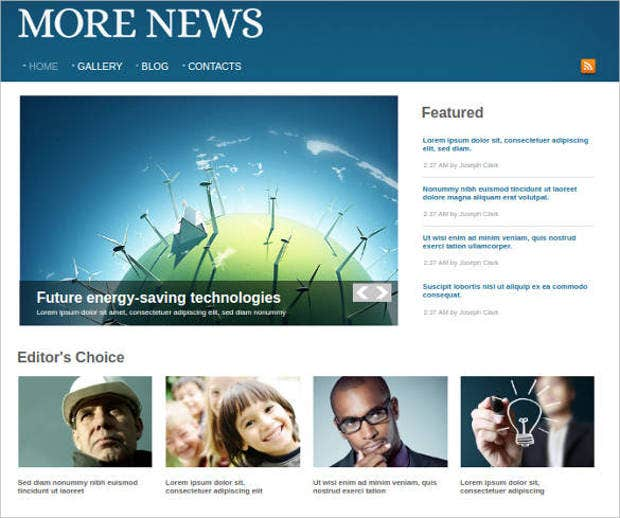 premium news portal website template1