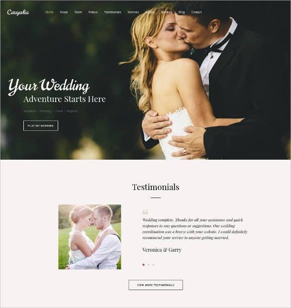 premium wedding website design1