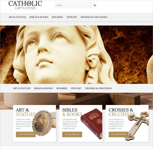 religious website theme template