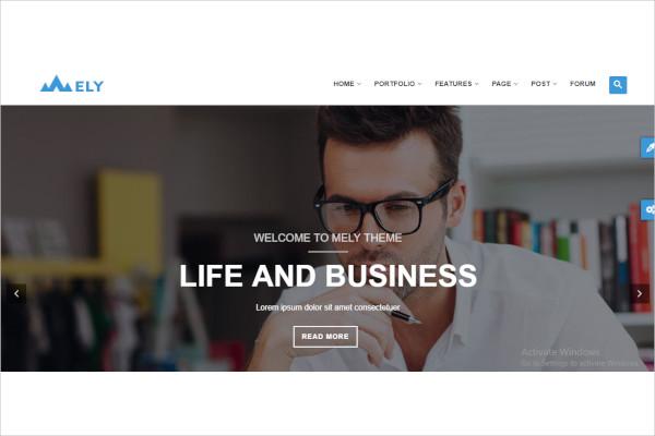 responsive business drupal theme