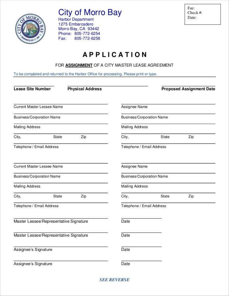sample lease application form 788x1019