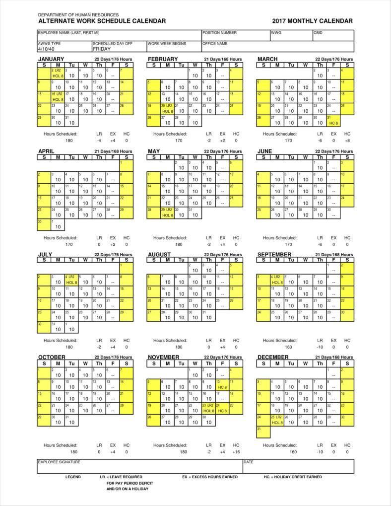 schedule calendar 11 788x1019