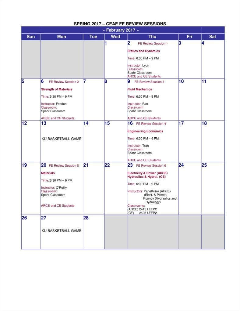 spring 2017 fe review sessions schedule 11 788x1019