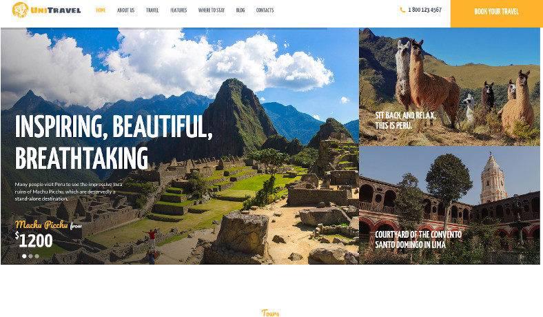 travel agency tourism bureau wordpress theme 788x460