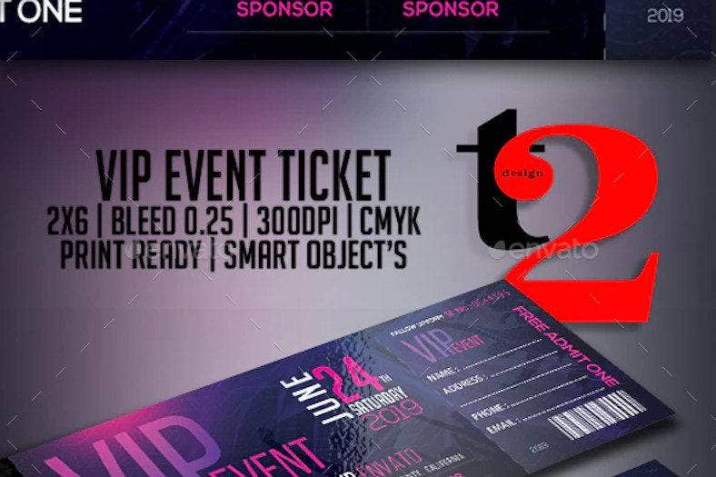 vip-event-tickets-template