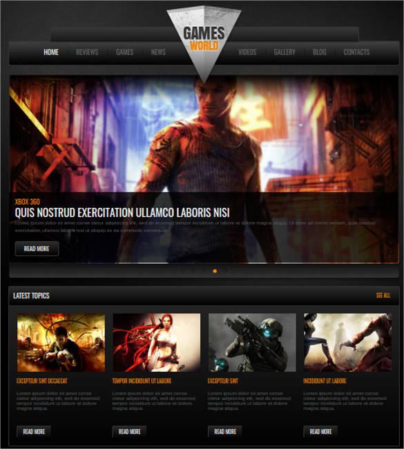 video games website