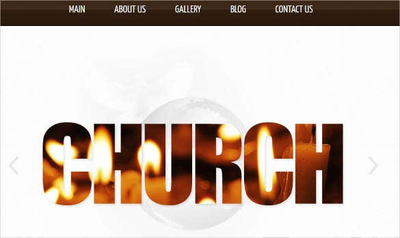 website template for churches and non profit