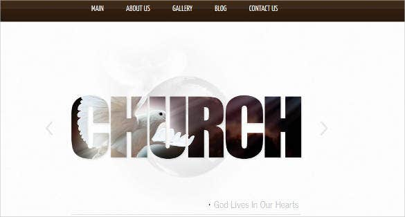 website template for churches and non profit1