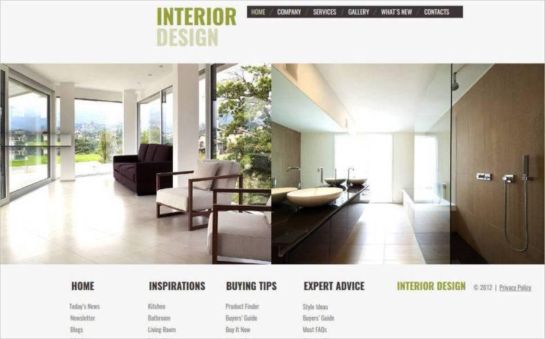 48 Interior Design Website Templates Free Premium Templates Beauteous Best Interior Design Websites 2012