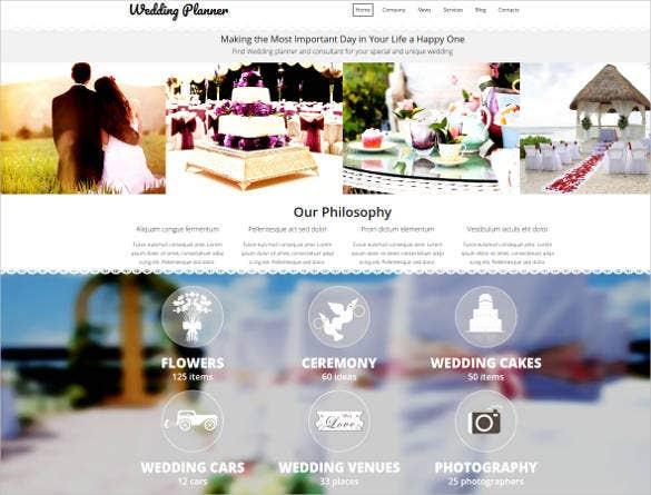 wedding-budget-website-template