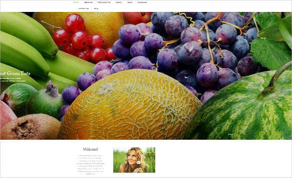 weight loss grocery responsive moto cms template