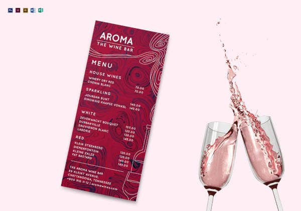 wine-bar-menu-template