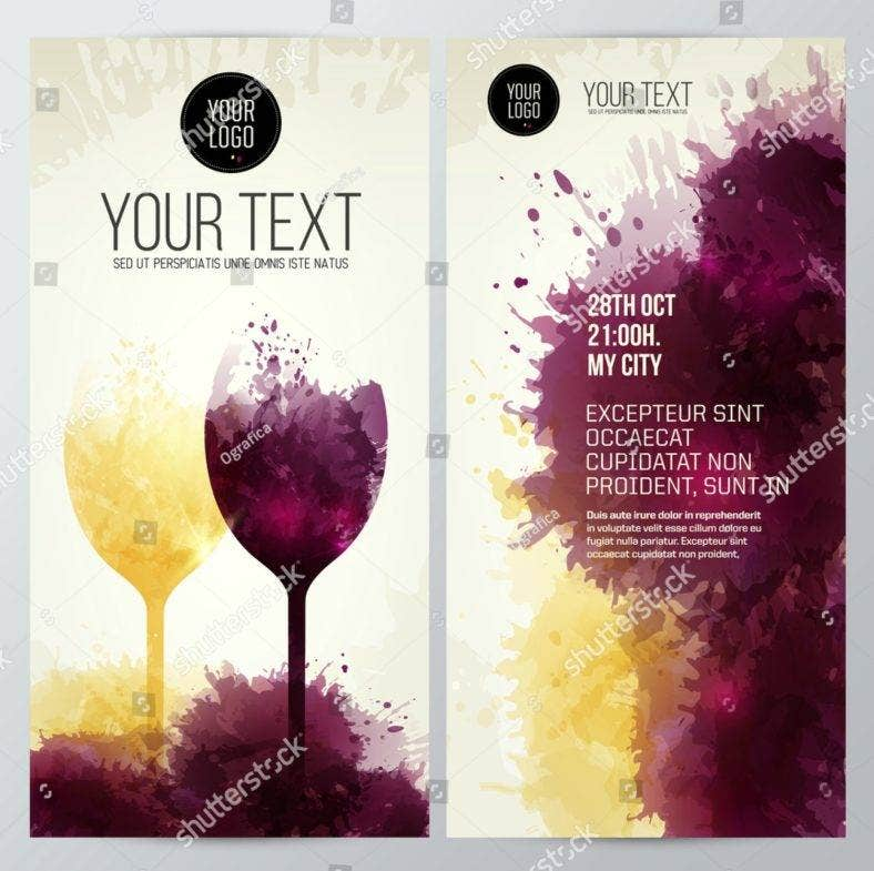 abstract-paint-wine-menu