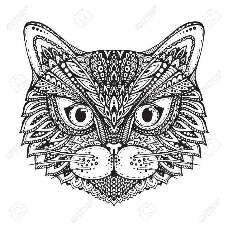 aztec-cat-head