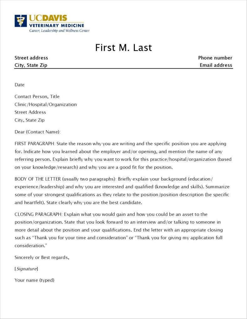 4 free promotion application letter samples examples for Applying for a promotion cover letter