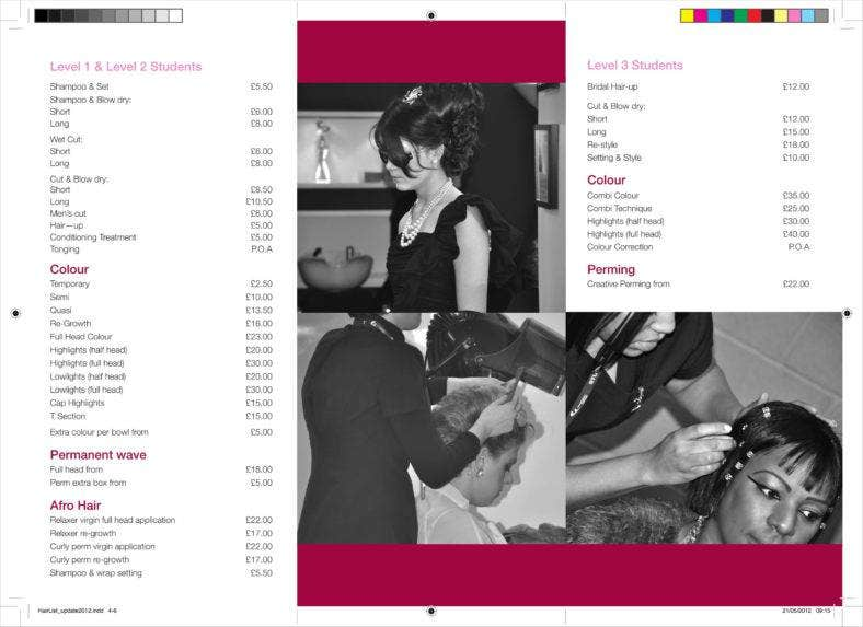 hair salon price list template 21 788x573