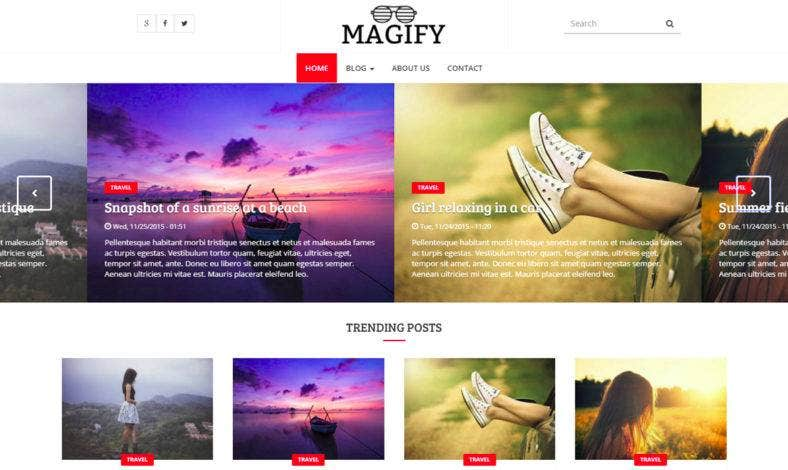 20+ Drupal Personal Blog Themes and Templates 2017 | Free