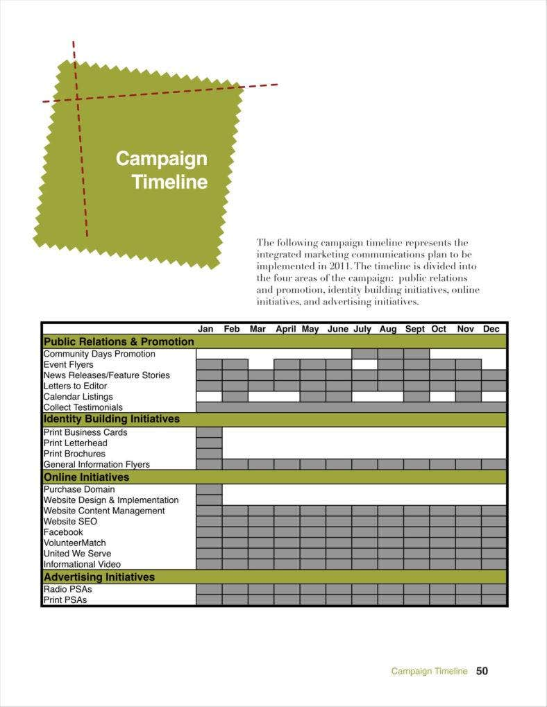 Advertising Calendars Free PDF Excel Format Download Free - Public relations calendar template