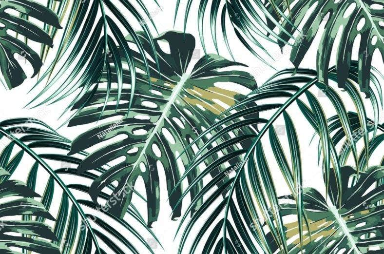 tropical-palm-leaves