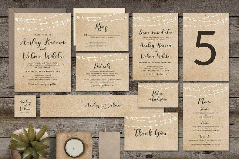 outdoor lights invitation