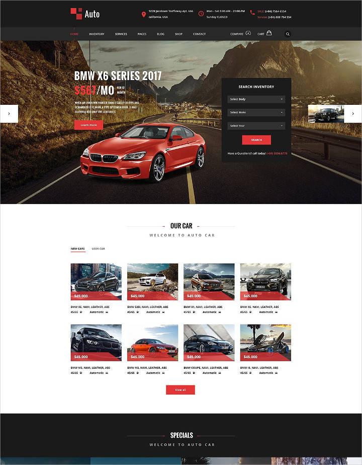 auto modern car rental service