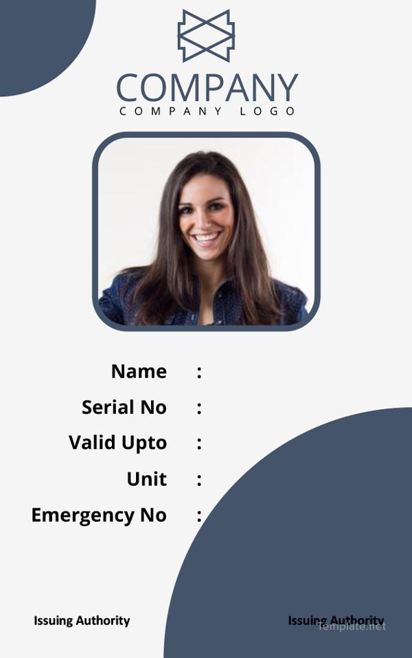 basic-id-card-template