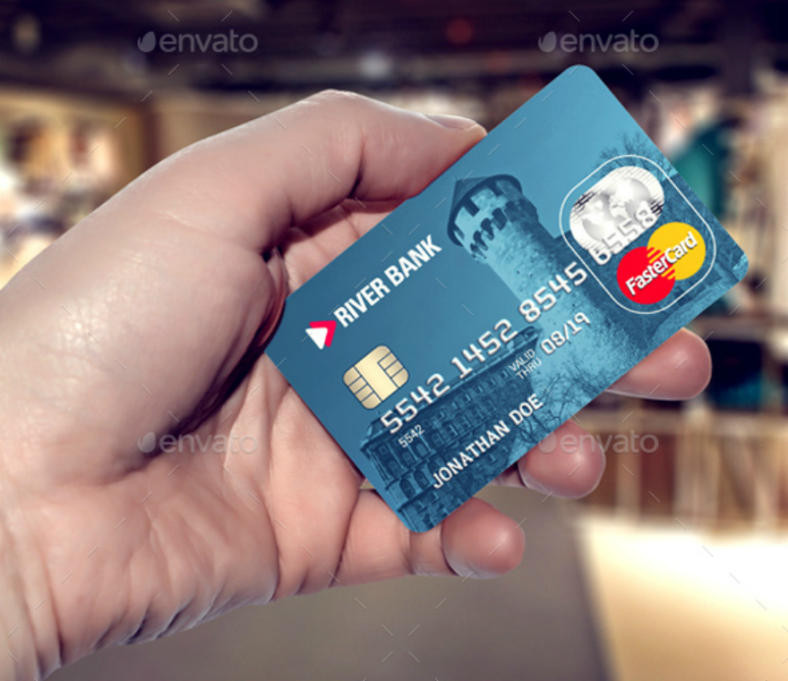 blue-creditdebit-card-design