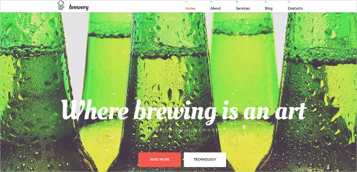 brewery-wordpress-theme