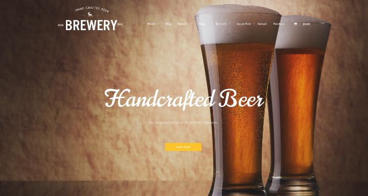 brewery-wordpess-theme
