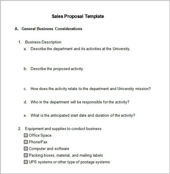 Great Busines Sales Proposal Template2