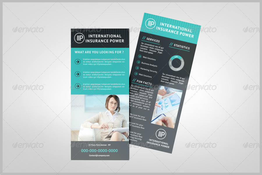business rack card template