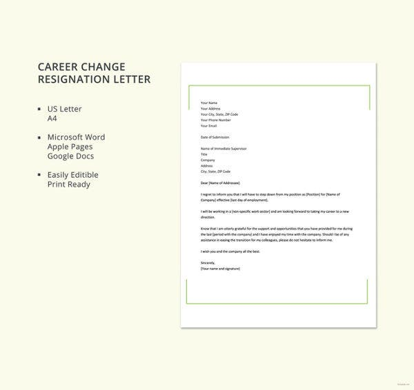 career-change-resignation-letter-template