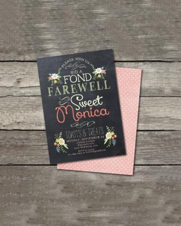 15 Farewell Invitation Designs Free